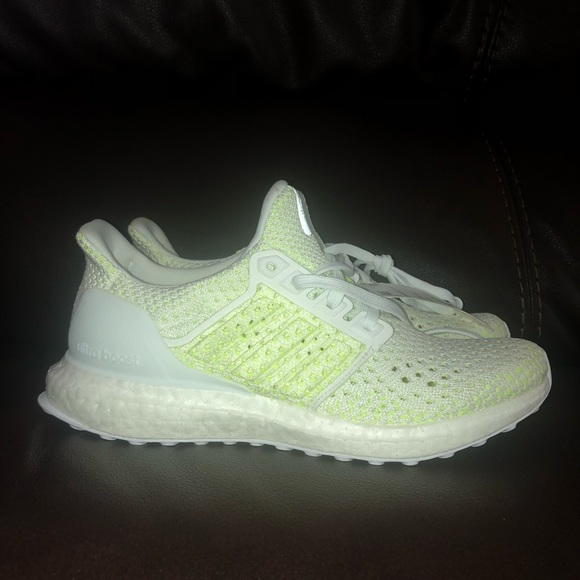 huge discount 08603 b717c Adidas Ultra boost clima cool j (solar yellow) NWT